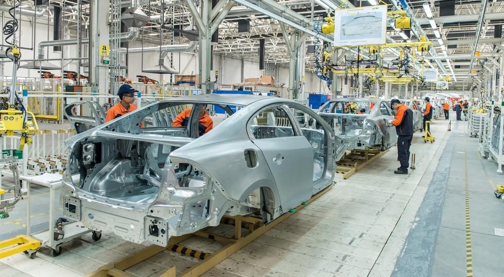 Производство Volvo S90 перенесут из Европы в Китай 2