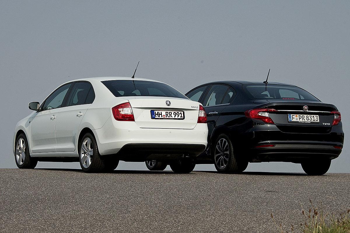 «Комфорт и экономичность»: тест-драйв Fiat Tipo и Skoda Rapid 2