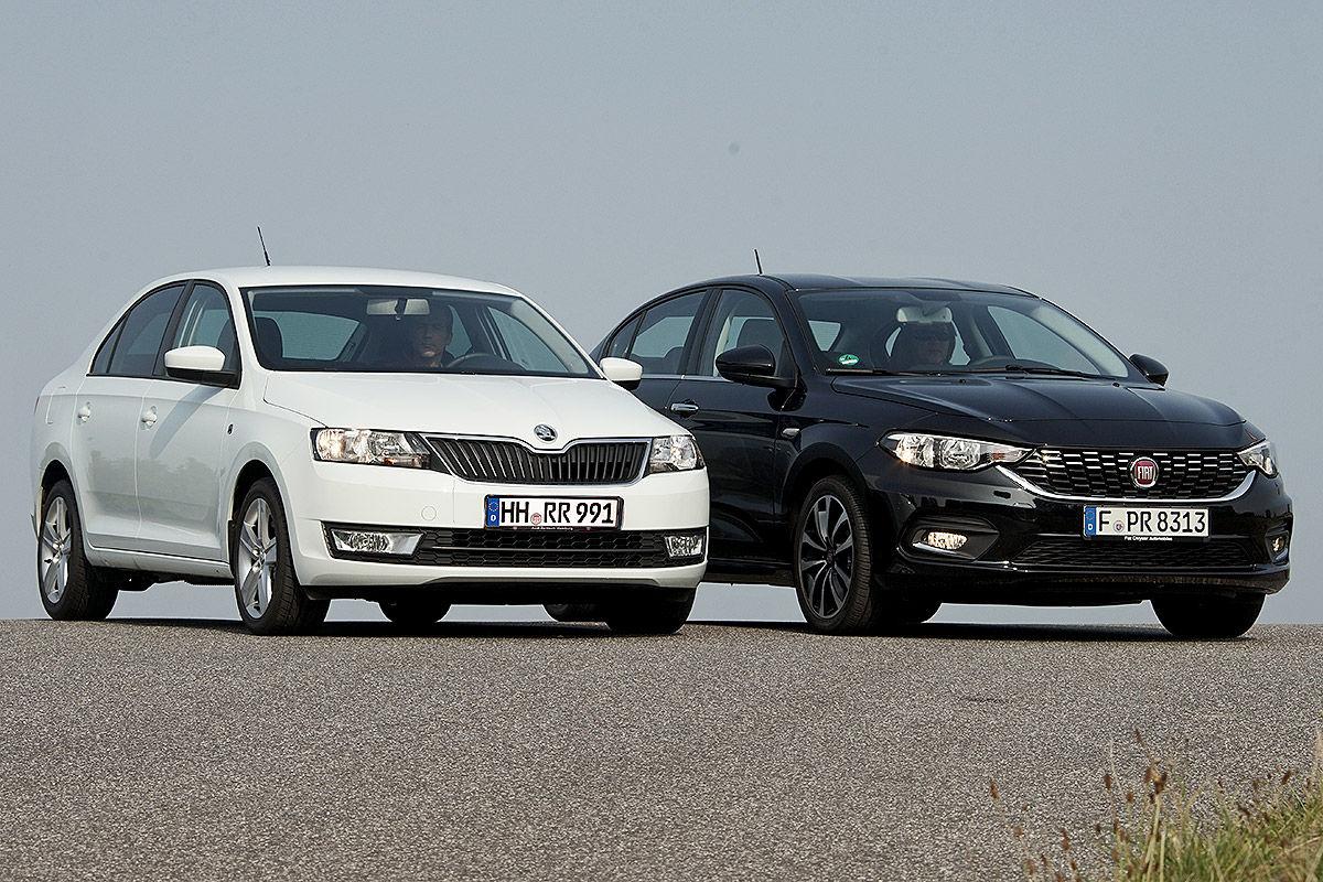 «Комфорт и экономичность»: тест-драйв Fiat Tipo и Skoda Rapid 1