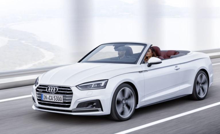 Audi представила новые кабриолеты A5 и S5 2