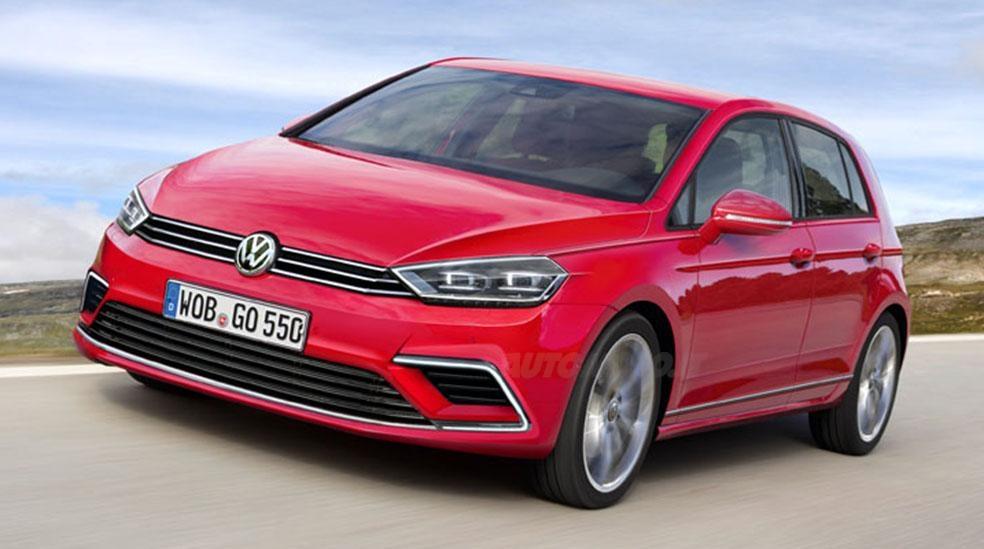 Volkswagen готовится к презентации обновленного Golf 1
