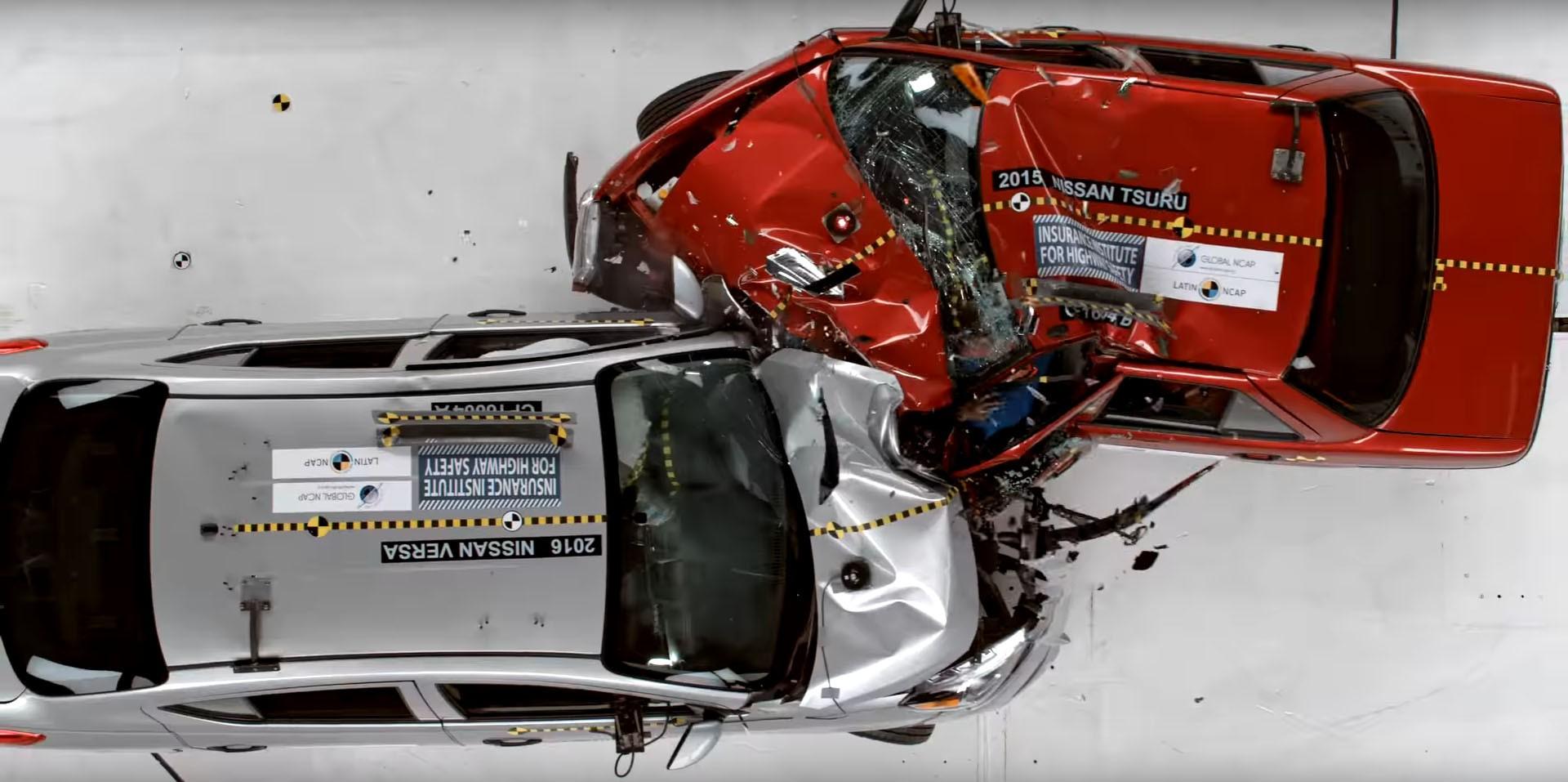 Краш-тест заставил Nissan отказаться от популярной модели 1