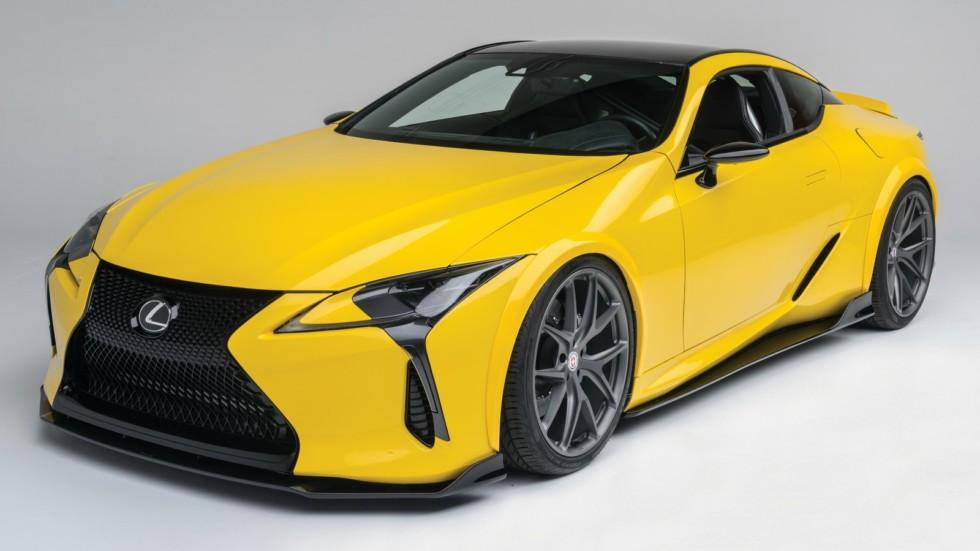 Lexus показал тюнингованное купе 2