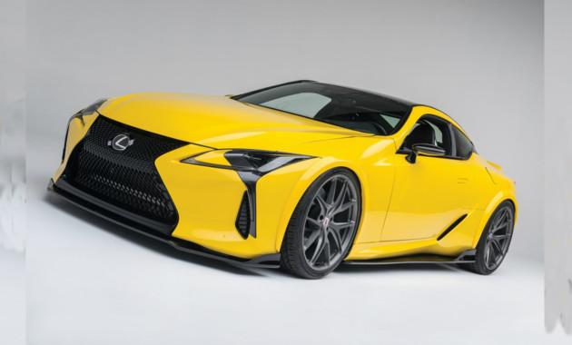 Lexus показал тюнингованное купе 1