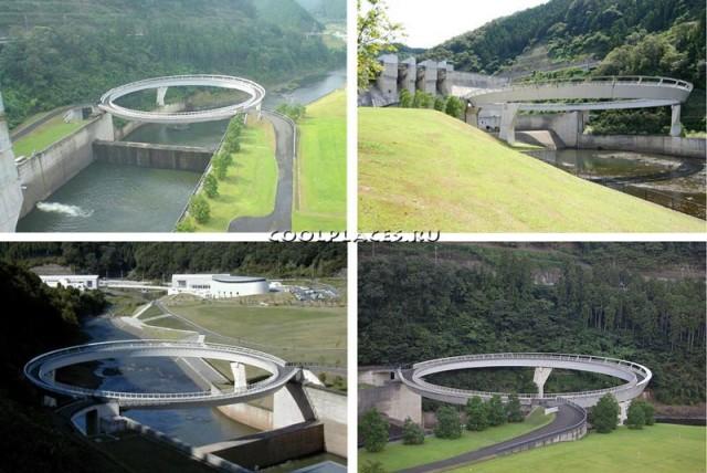 Единственный в мире круглый мост 1