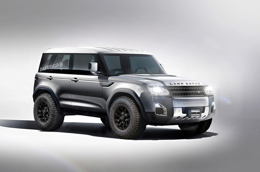 Land Rover представит самый крутой внедорожник 2
