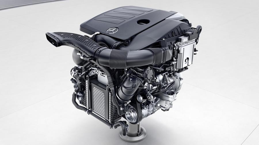 Компания Mercedes-Benz презентовала новые моторы для S-Class 4
