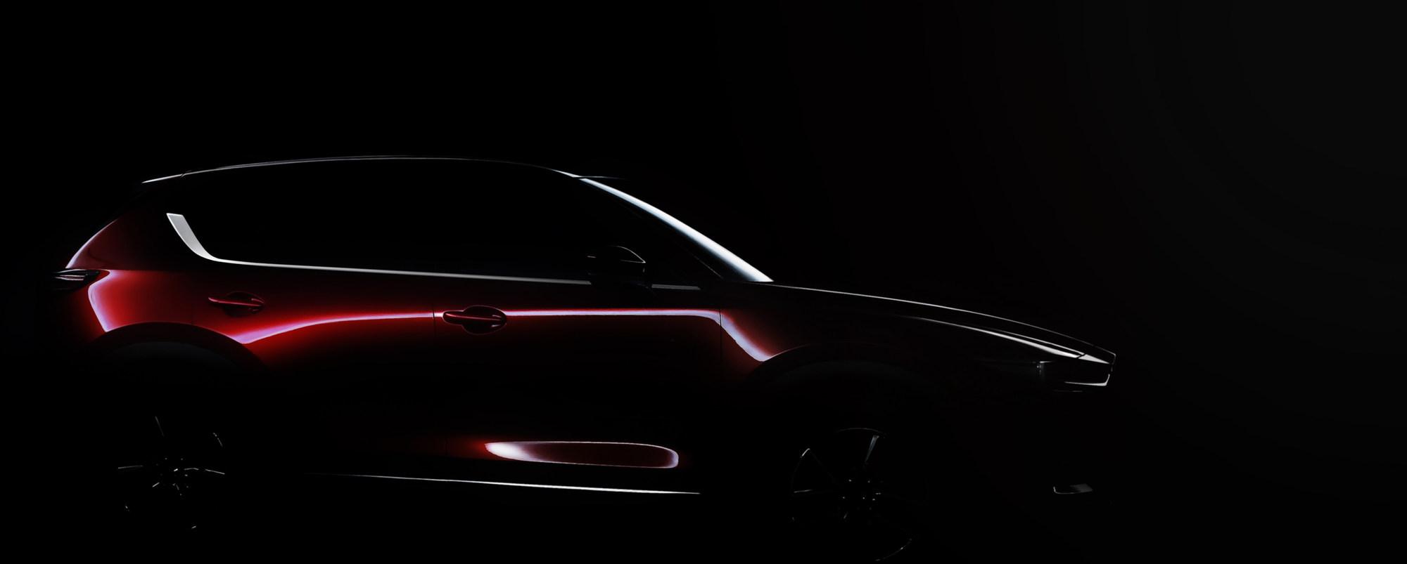 Полностью новая Mazda CX-5: первый тизер и дата премьеры 1