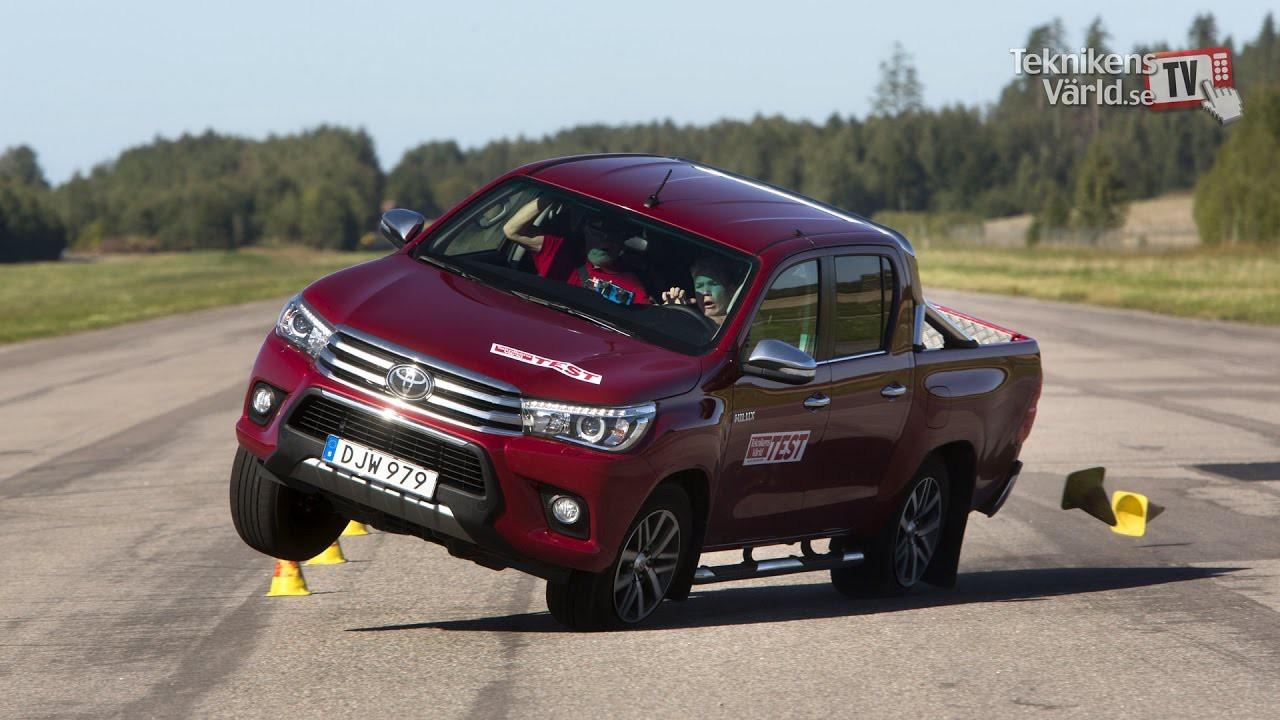 Toyota Hilux завалил «лосиный тест» 1