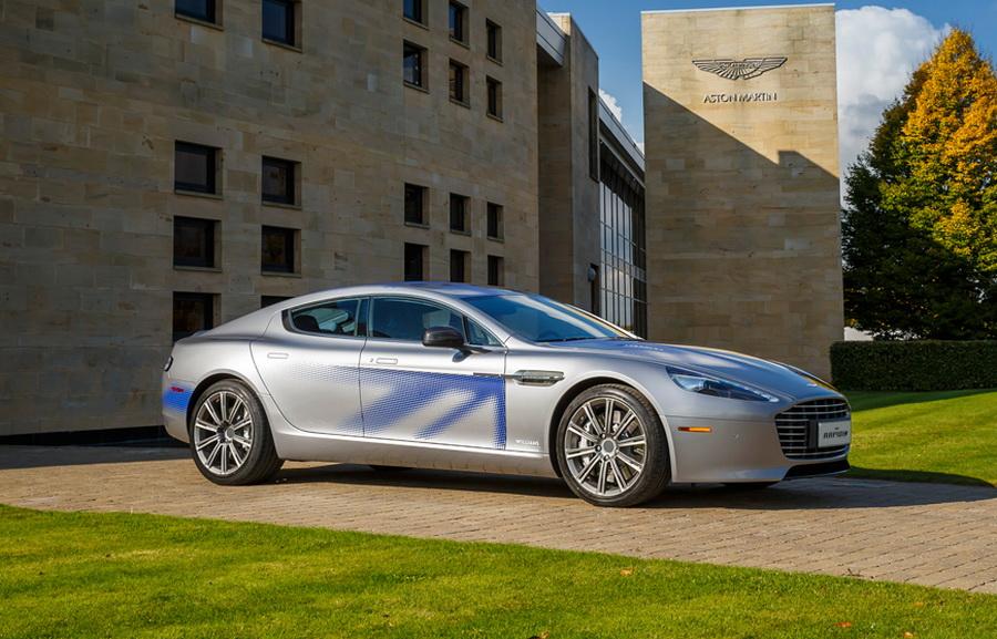 Aston Martin переведут на электротягу 1