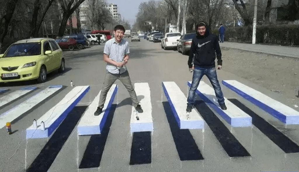«3D-зебры»: искусство или мера безопасности 3