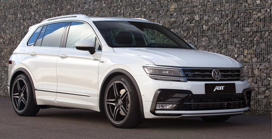 Немцы улучшили новый Volkswagen Tiguan 1