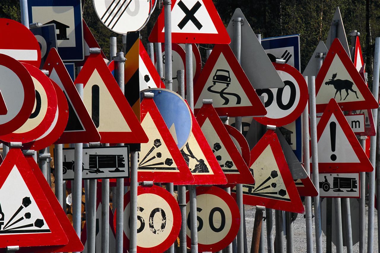 Дорожная реформа: всё про дорожные знаки в Украине 1