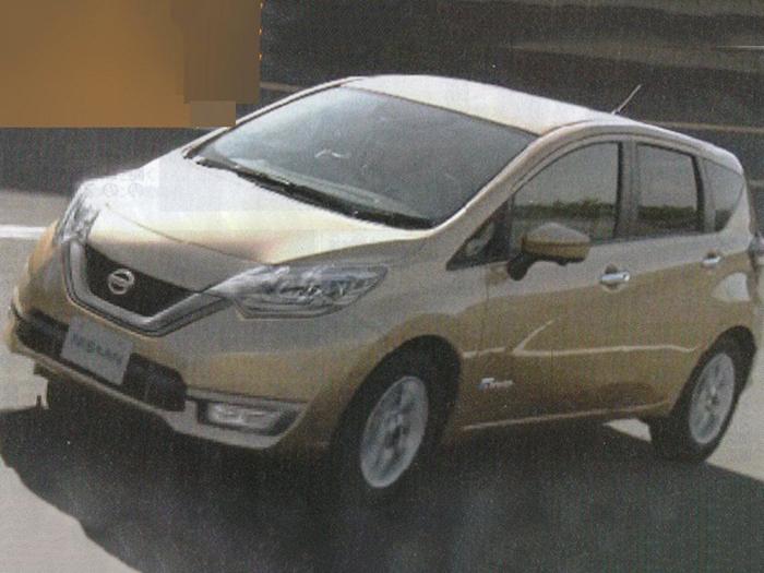 Nissan Note обзаведется гибридной версией 1