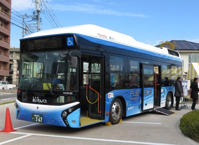Водородный автобус Toyota успешно прошел испытания 2