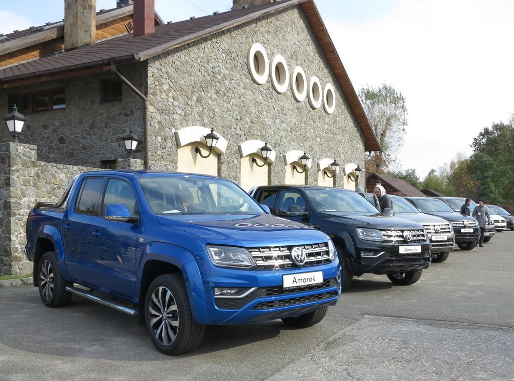 Новый VW Amarok уже в Украине 3