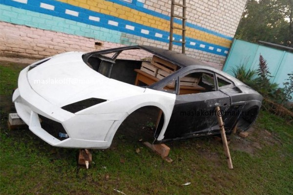 Белорусы создали копию кузова Lamborghini Gallardo 2