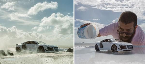 В рекламе суперкара Audi использовала авто за 40 долларов 1