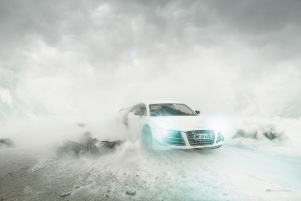 В рекламе суперкара Audi использовала авто за 40 долларов 5