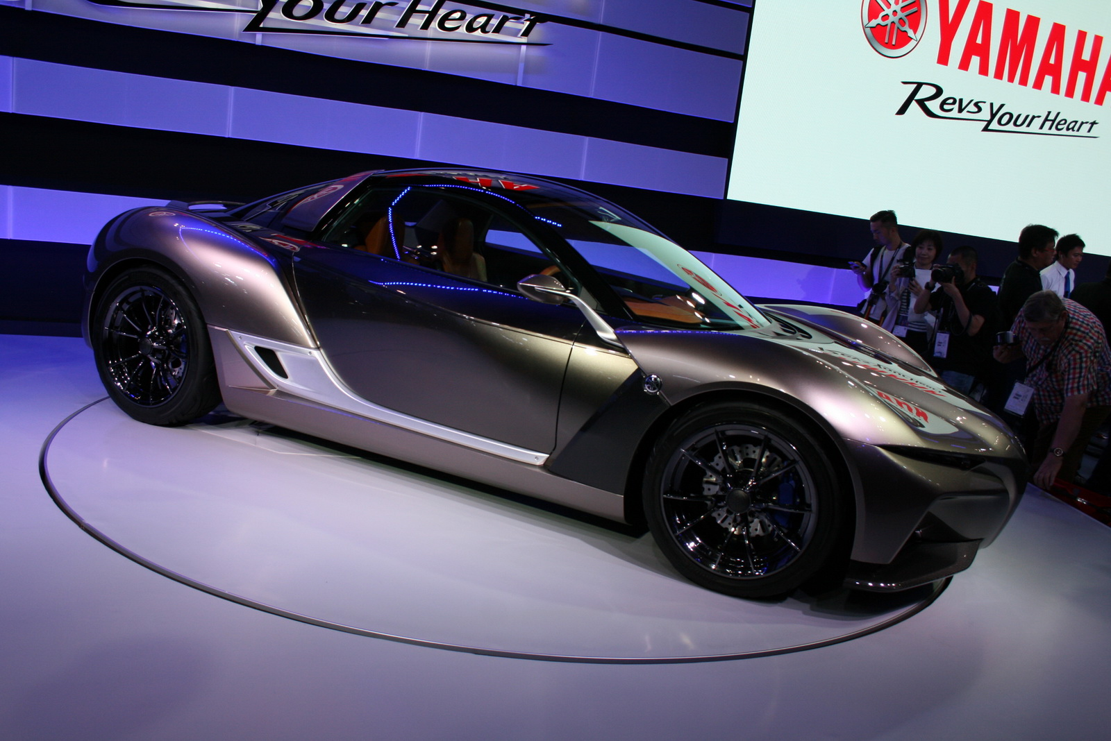 Компания Yamaha начнет производить автомобили 2