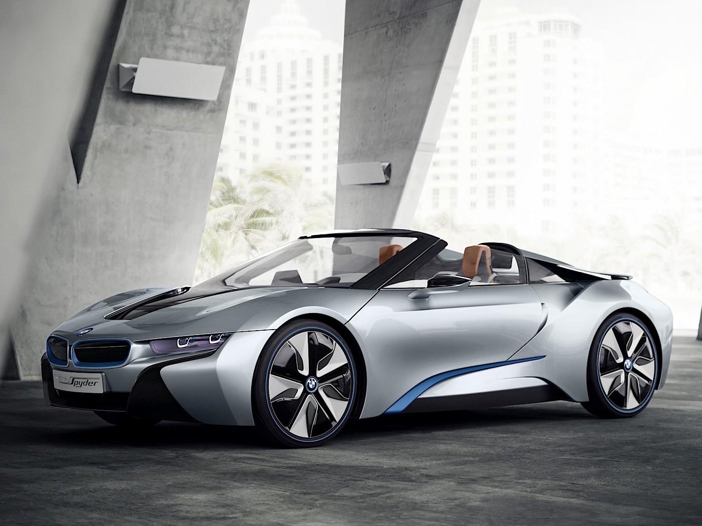 BMW презентует родстер i8 через два года 1