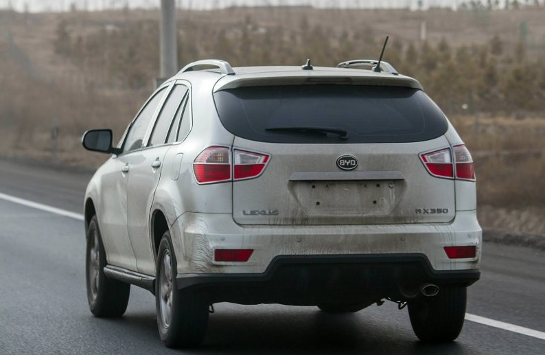 Клоны известных автомобилей на дорогах Китая 1