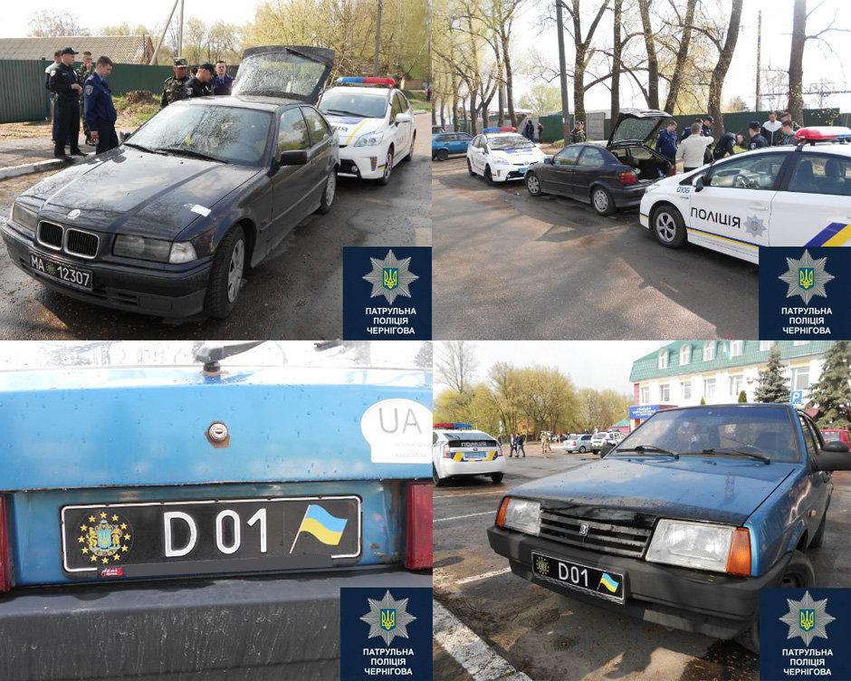 Как действует полиция, заметив нестандартные номерные знаки на авто? 1