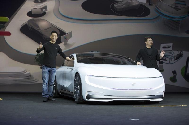 Китайцы построили концепт конкурента Tesla Model S 1