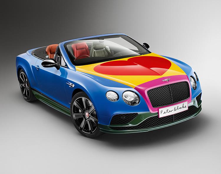 Компания Bentley показала популярную модель, оформленную в стиле поп-арт 1