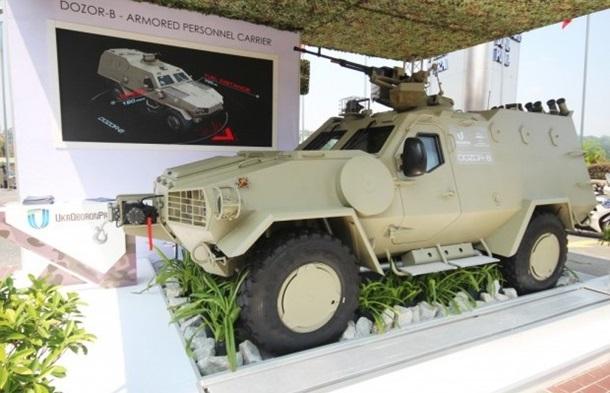 Украинский бронетранспортер «Дозор-Б» будут продавать в Малайзию 3