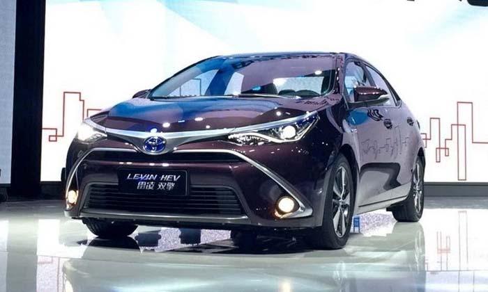 Марка Toyota выпустит гибридные версии Corolla и Levin 2