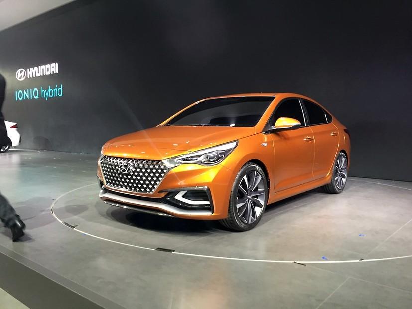 В Пекине показали как будет выглядеть Hyundai Accent следующего поколения 2
