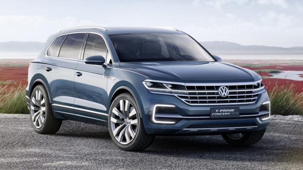 Компания Volkswagen показала вероятного правопреемника модели Touareg 1
