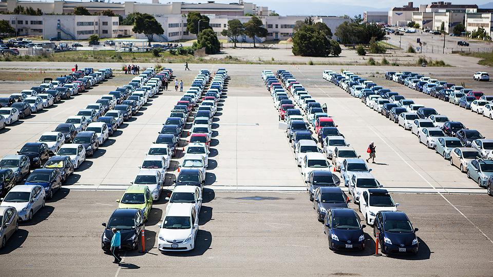 Гибрид Тойота Prius установил рекорд Гиннеса 2