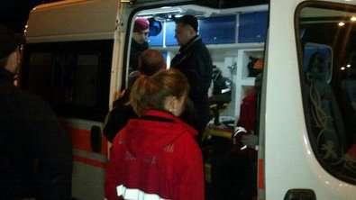 Пассажиры иномарки обстреляли полицейский экипаж 1