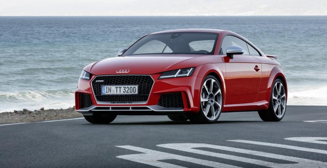 Компания Audi представила обновленный TT RS, мощностью 400 л.с 1