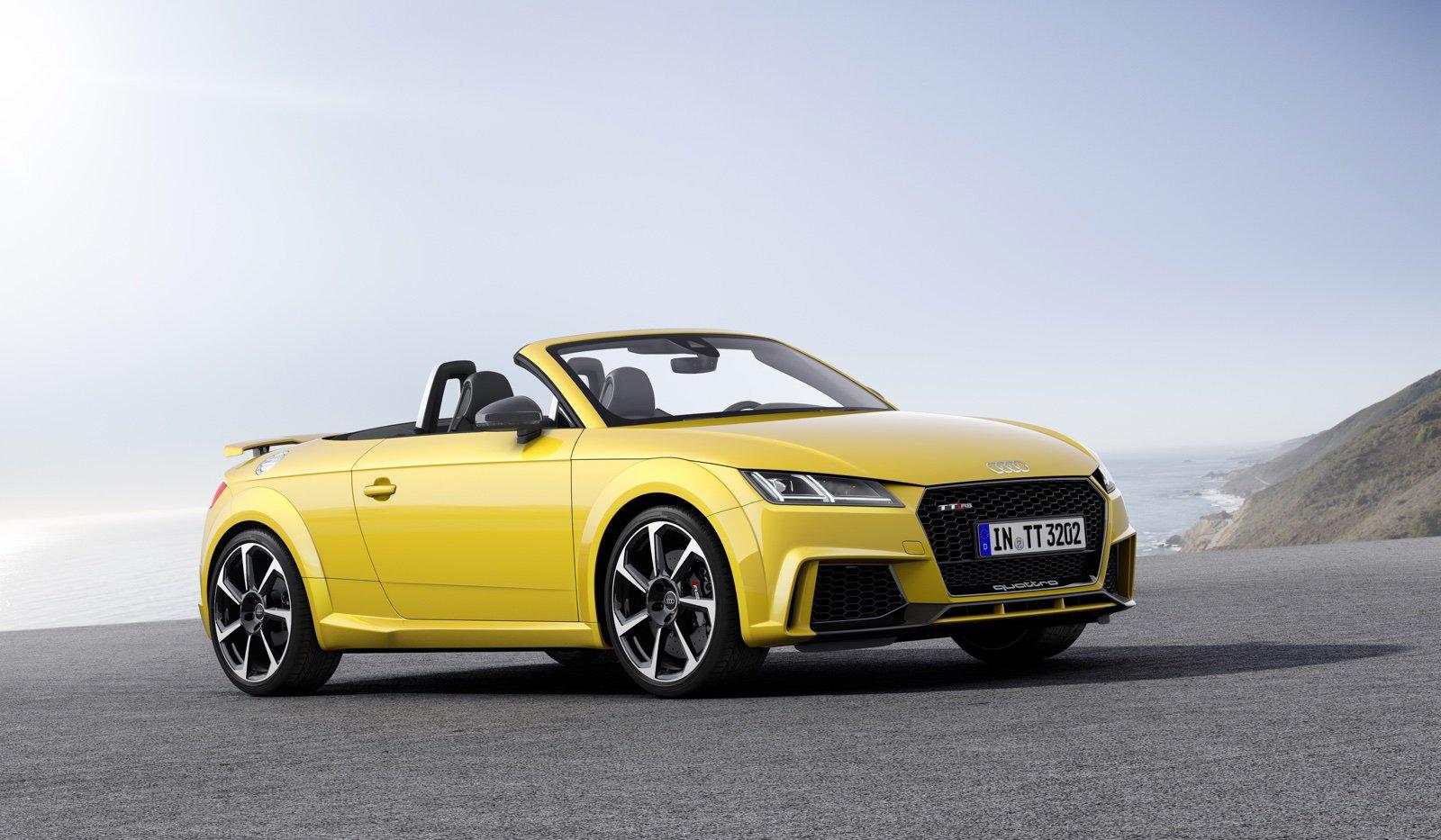 Компания Audi представила обновленный TT RS, мощностью 400 л.с 2