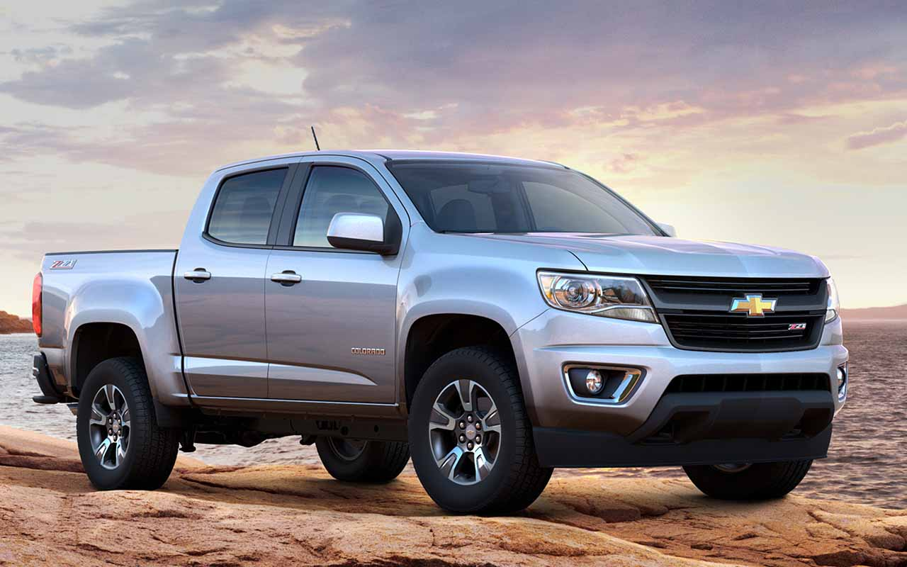 Компания Chevrolet рассекретила рестайлинговый пикап Colorado 2