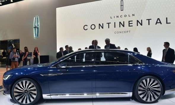 В Пекине представили Lincoln Continental с 245 л. силами 1