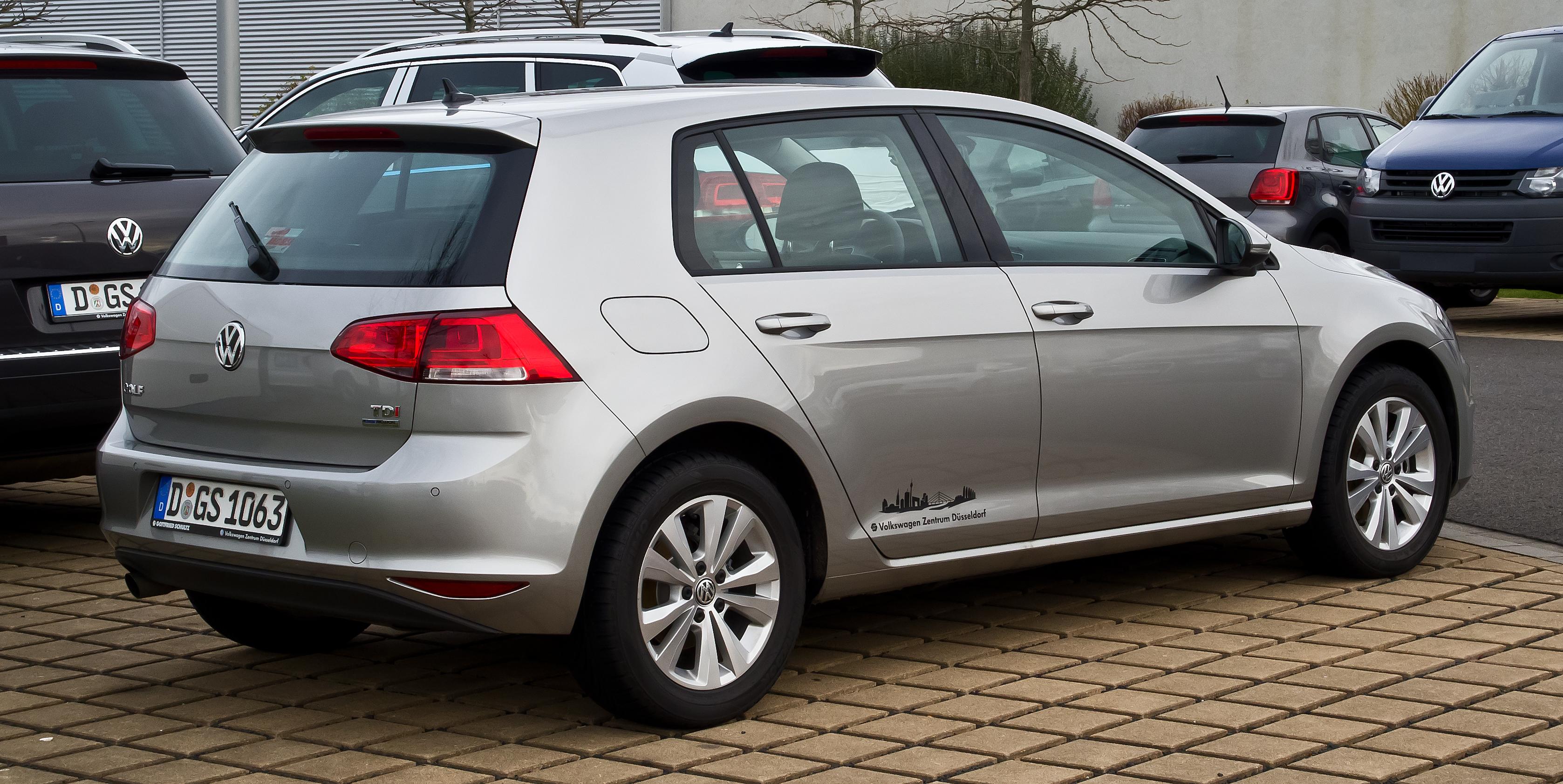 Компания Volkswagen начала отзыв дизельных автомобилей с модели Golf 1