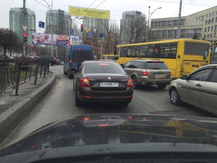 Как россияне маскируют номерные знаки под украинские 1