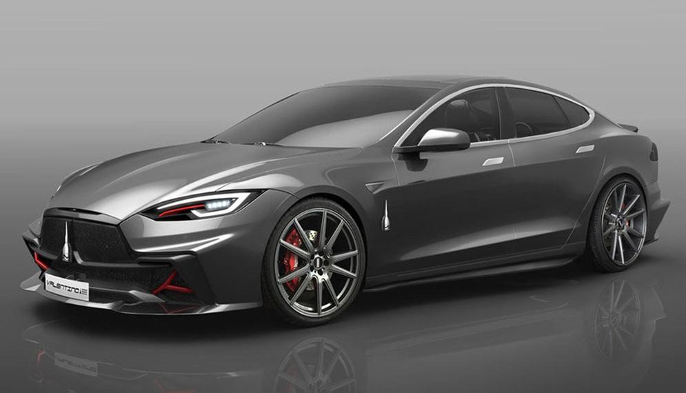 Дизайнерская студия из Италии превратит Tesla Model S в Valentino 2