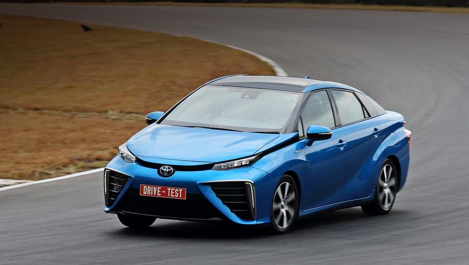 Компания Toyota выпустит доступный автомобиль на базе Mirai 1