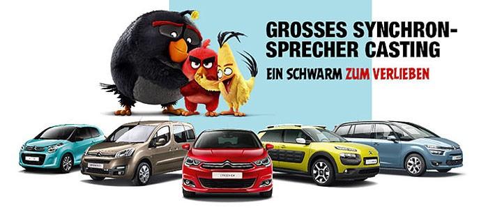 Angry Birds будут рекламировать автомобили Citroen 1