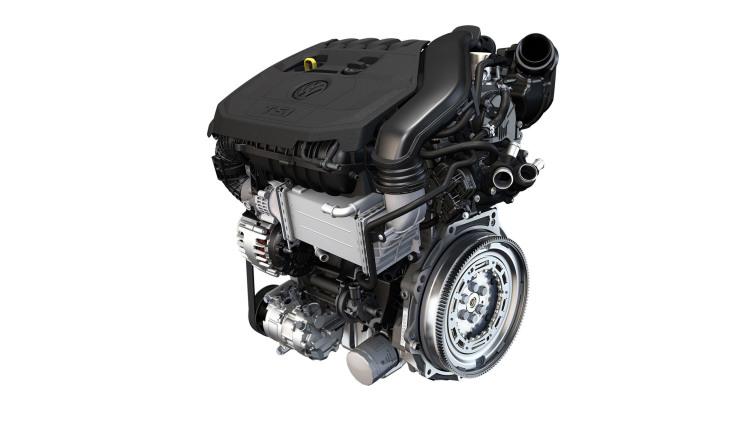 Volkswagen представит новый бензиновый мотор 1