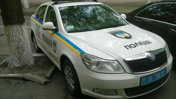 В Украине «героями парковки» бывают даже полицейские 2