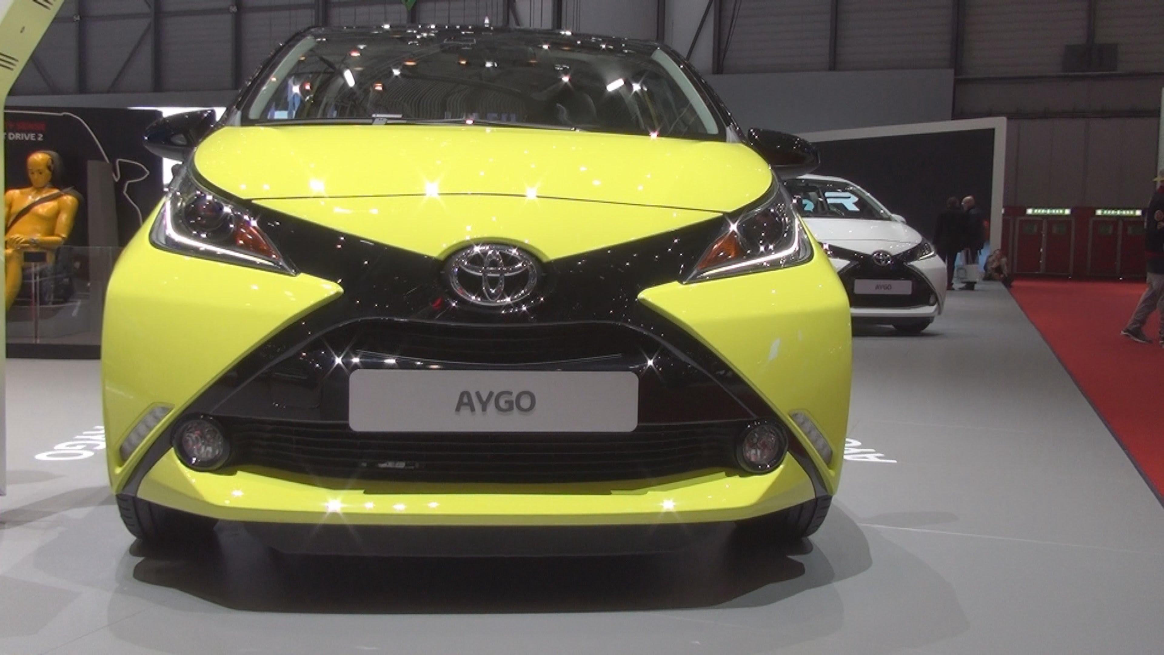 Компания Toyota рассекретила европейскую версию Aygo X-Syte 1