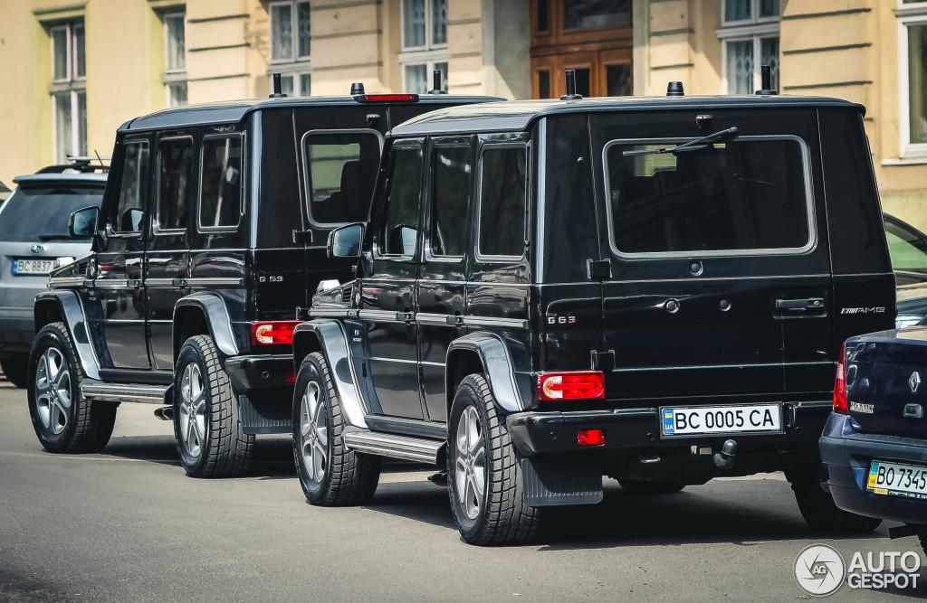 В Украине замечен уникальный бронированный Geländewagen 2