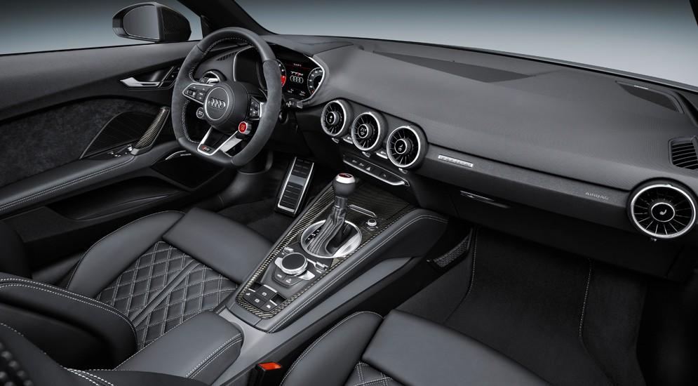 Компания Audi представила обновленный TT RS, мощностью 400 л.с 3
