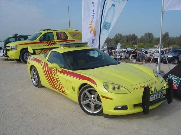Суперкар Chevrolet Corvette Stingray установил рекорд скорости среди пожарных автомобилей 2
